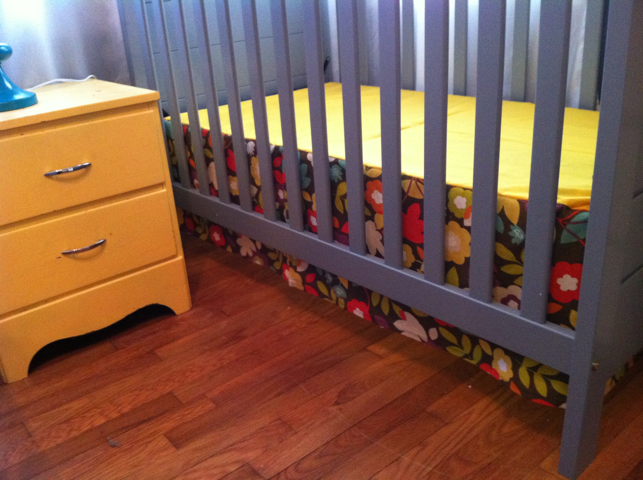 Make Your Own Crib Skirt