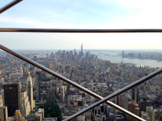 View from the Empire State Building.