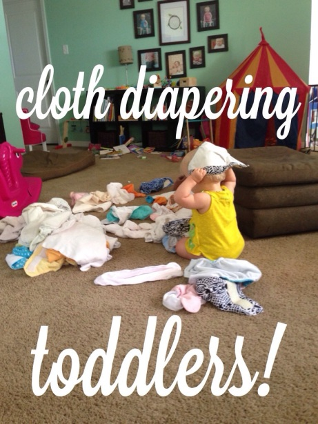 tips for cloth diapering toddlers // the adventures of ernie bufflo