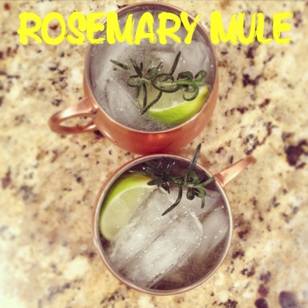 Rosemary Moscow Mule