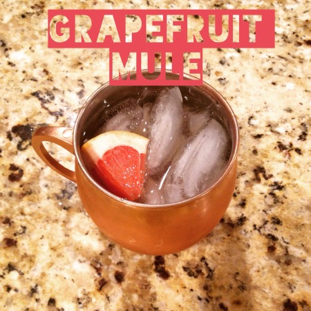 Grapefruit Mule Cocktail