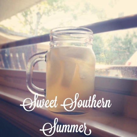 Sweet Southern Summer cocktail