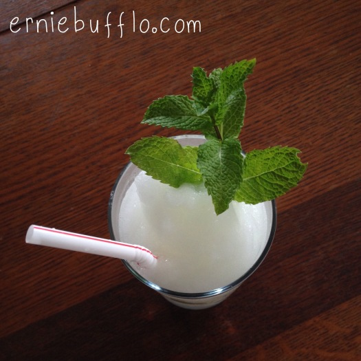 frozen mojito recipe: a perfect summer drink! | The Adventures of Ernie Bufflo