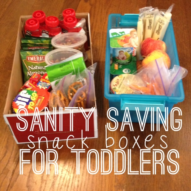 making sanity saving snack boxes for toddlers | the adventures of ernie bufflo