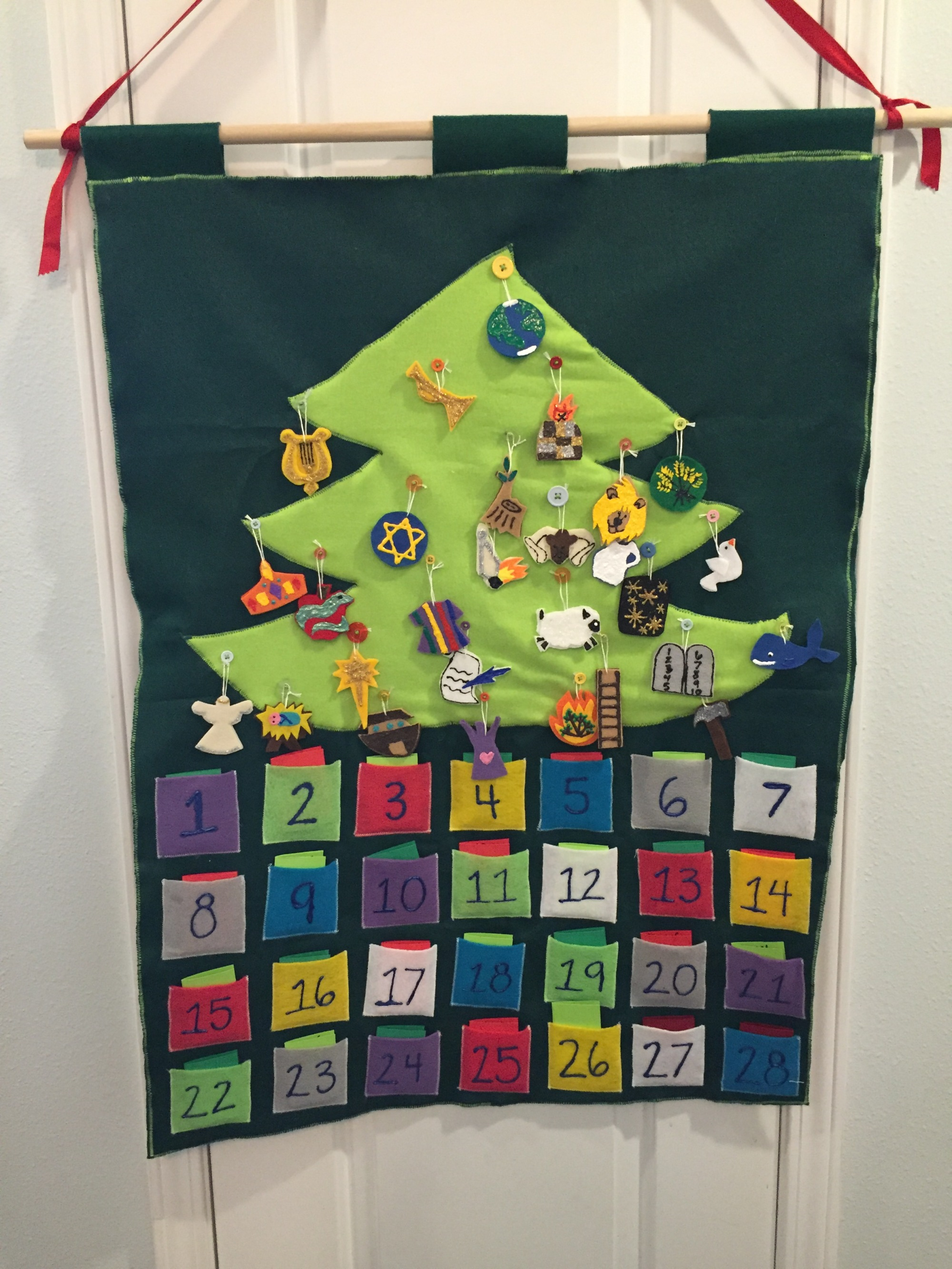 Ideas for creating a Jesse Tree Advent Calendar | erniebufflo.com