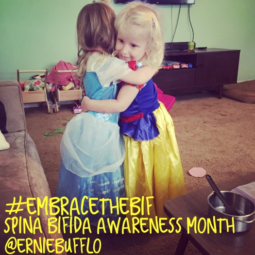 Why we #embracethebif for Spina Bifida Awareness Month | erniebufflo.com