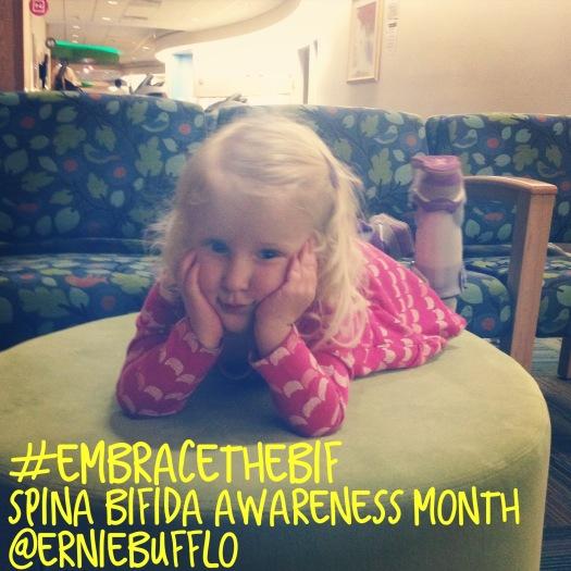 Why we #embracethebif for Spina Bifida Awareness Month | erniebufflo.com