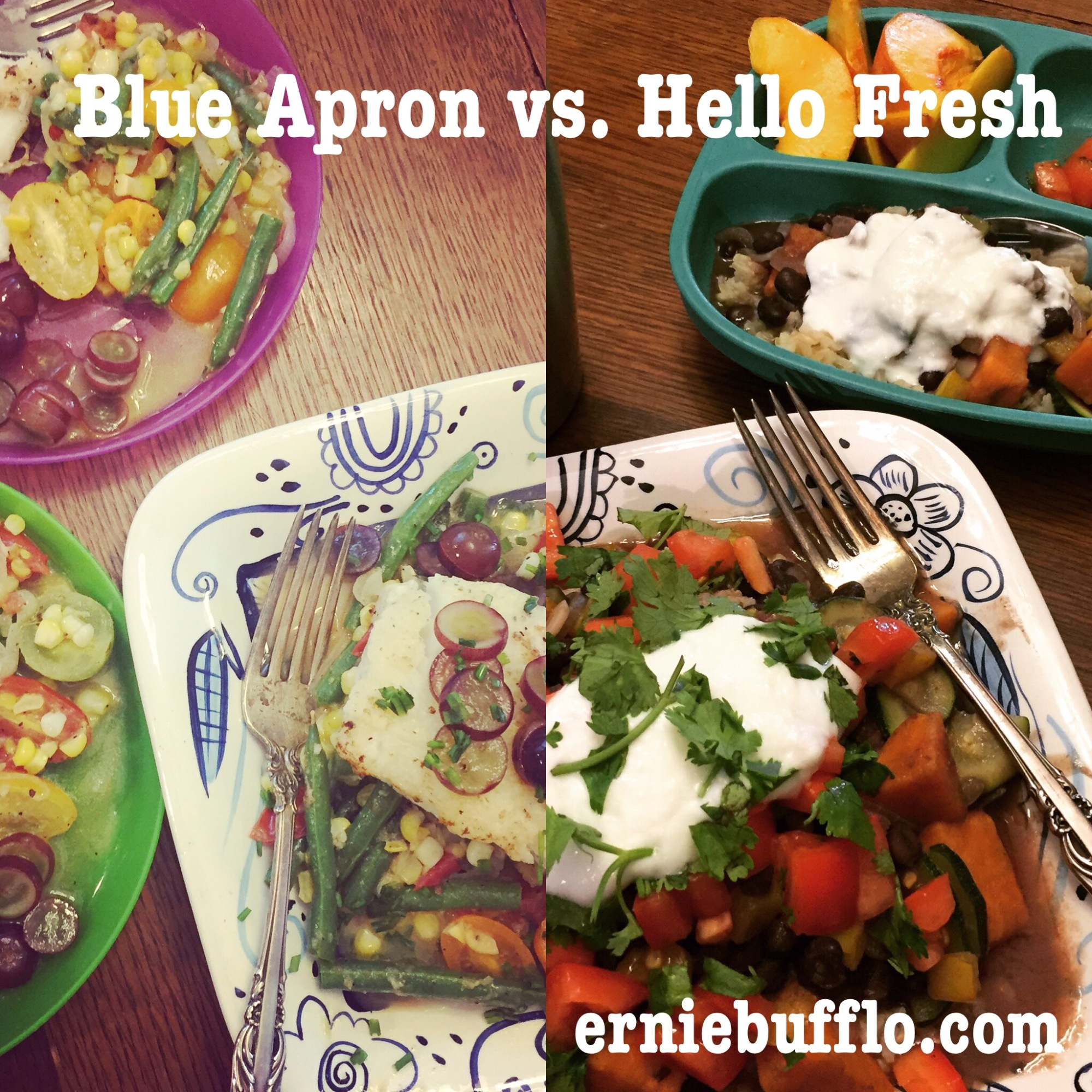 Blue Apron vs. Hello Fresh, which comes out on top? | erniebufflo.com