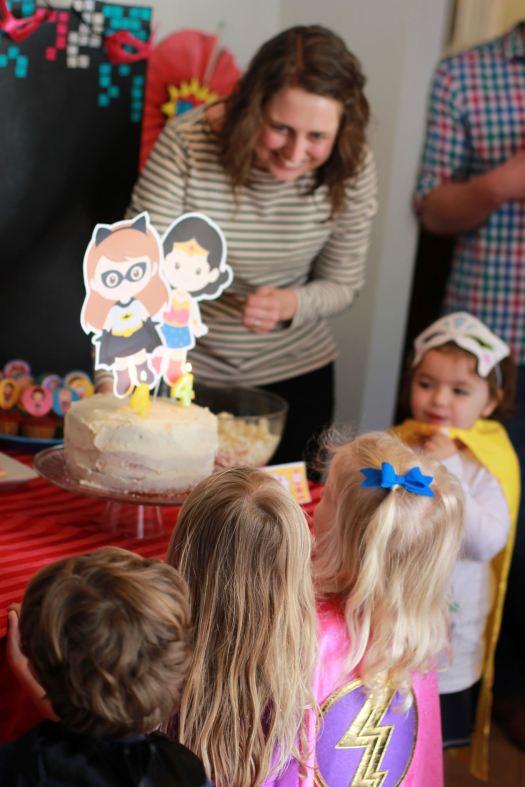 Girls Superhero Birthday Party
