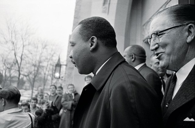 Martin Luther King Jr. at Montview Presbyterian Church.