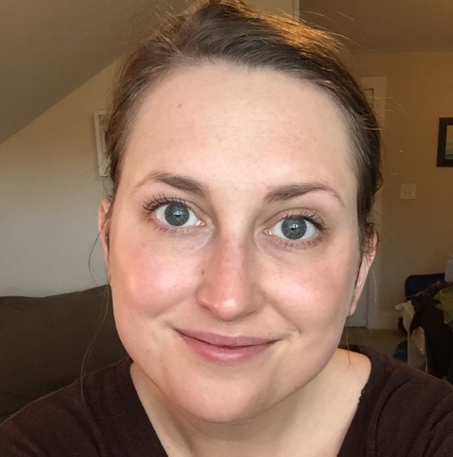 This is my face a few months into my new routine, wearing only mascara and tinted moisturizer, in natural light, with no filters.