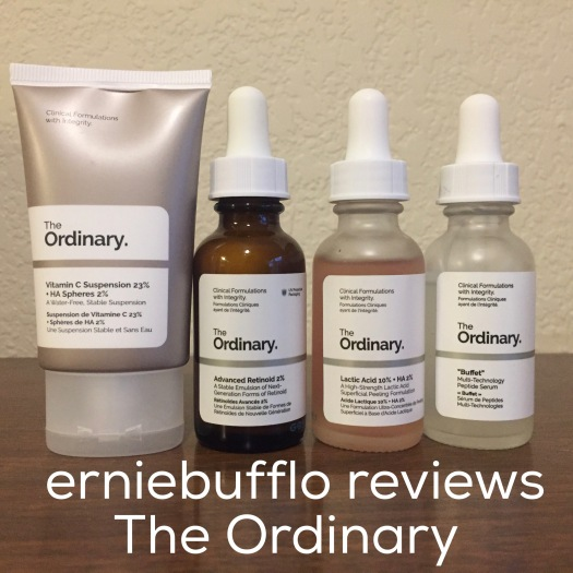 erniebufflo reviews skincare from The Ordinary