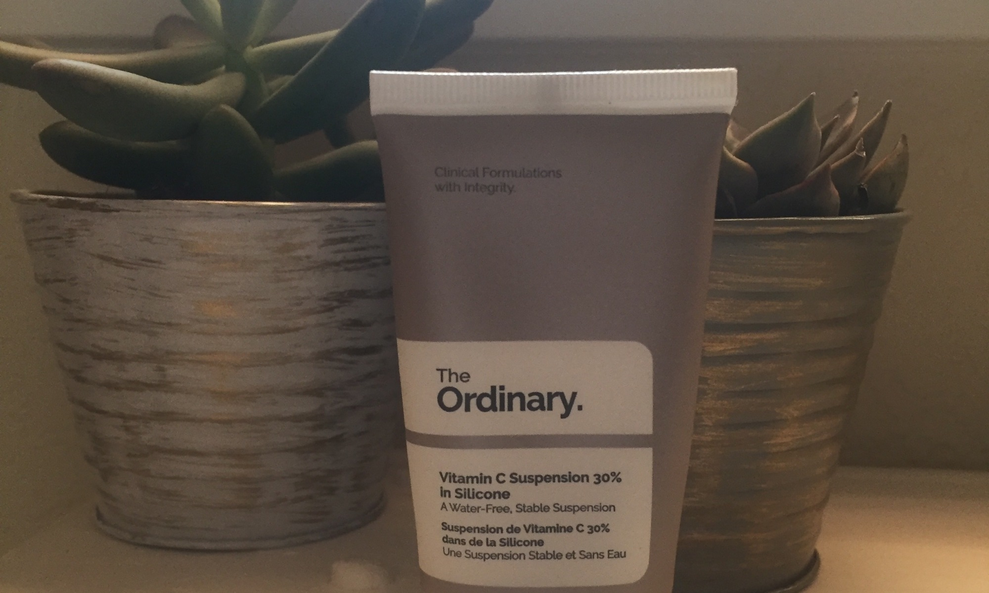 The Ordinary Vitamin C 30% in Silicone skincare review | erniebufflo.com
